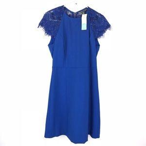 NWT Stitch Fix Brixon Ivy Dress Sz XS Blue Lace